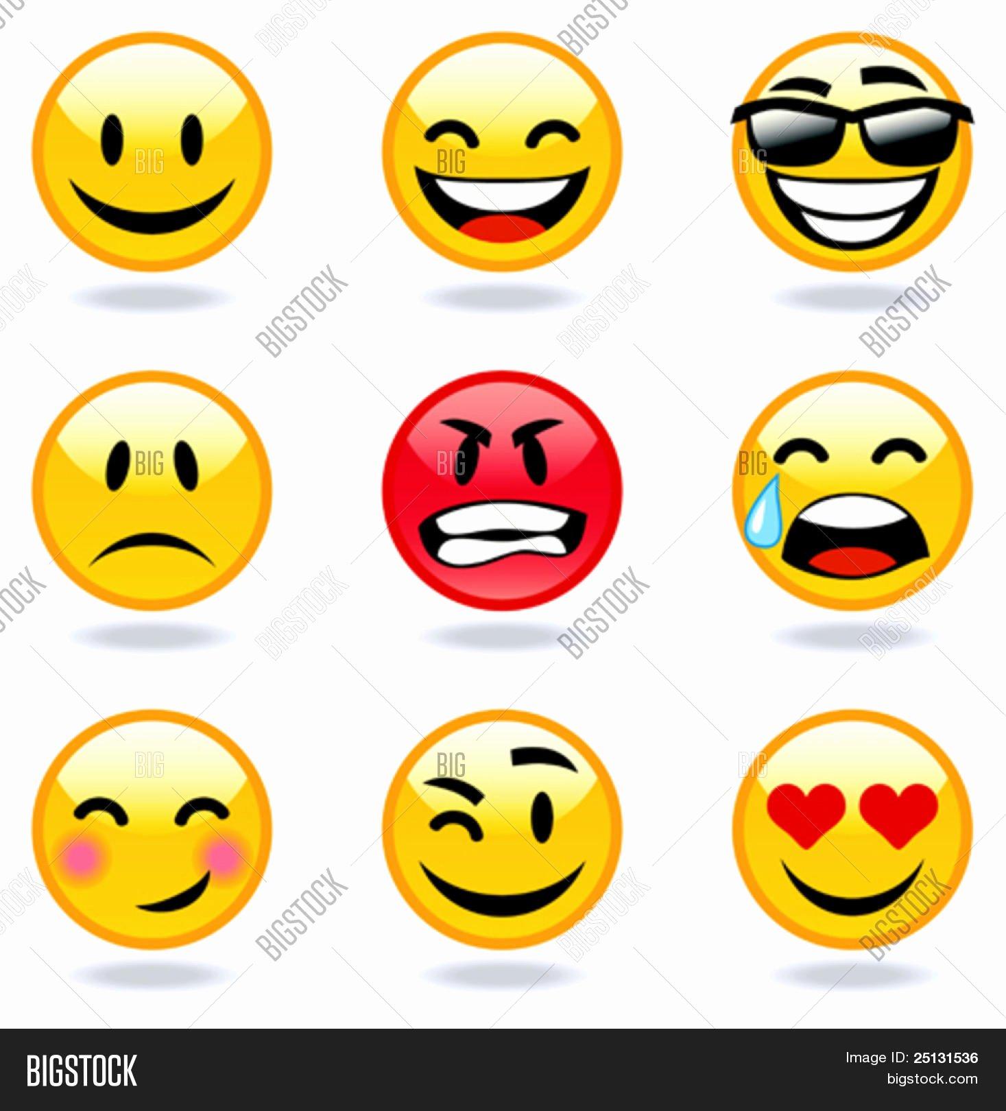 Happy and Sad Emoji Unique Happy and Sad Emoji