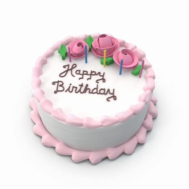 Happy Birthday 3d Images Elegant 3d Happy Birthday Cake