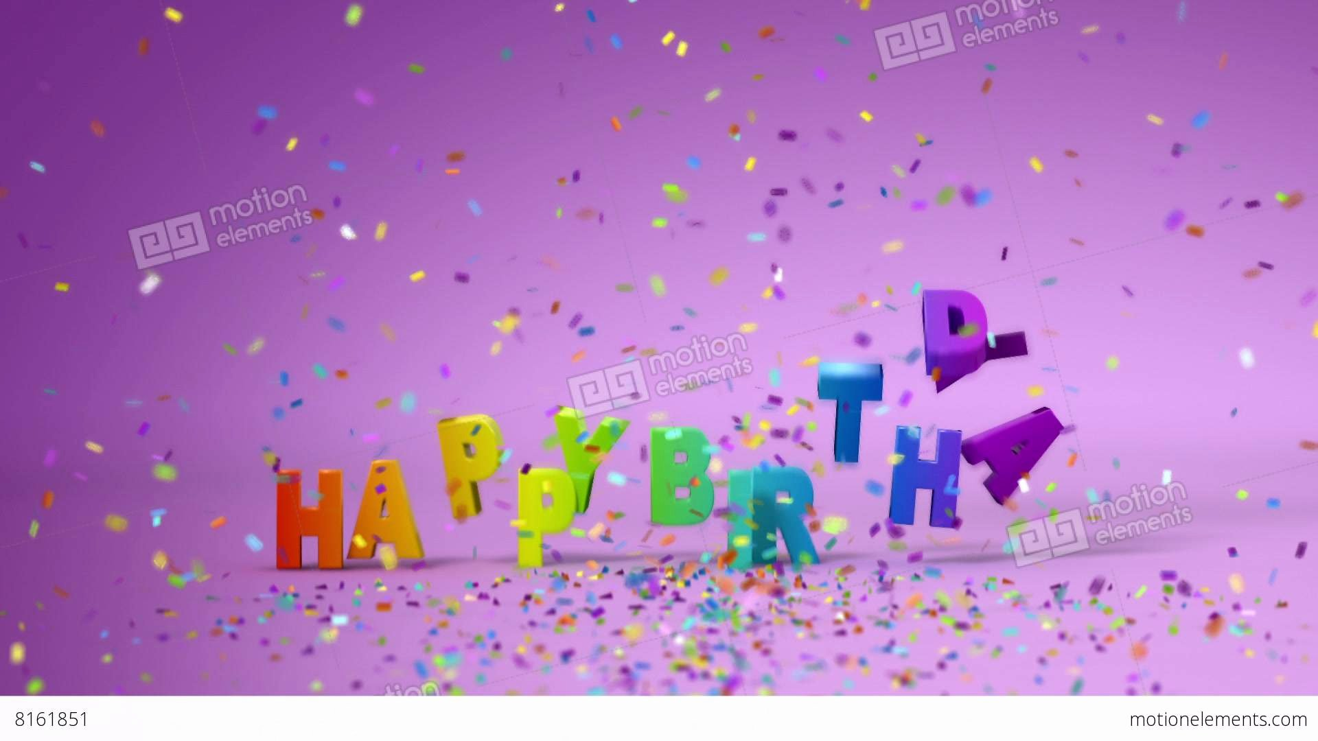 Happy Birthday 3d Images Fresh Happy Birthday Funny 3d Animation Stock Animation