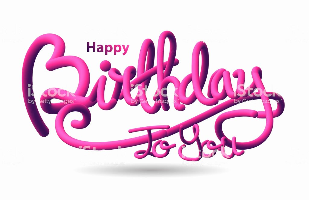 Happy Birthday 3d Images Inspirational Happy Birthday 3d Text Stock Vector Art & More Of
