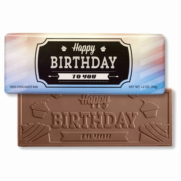 Happy Birthday Candy Images Beautiful Happy Birthday Label Chocolate Bar