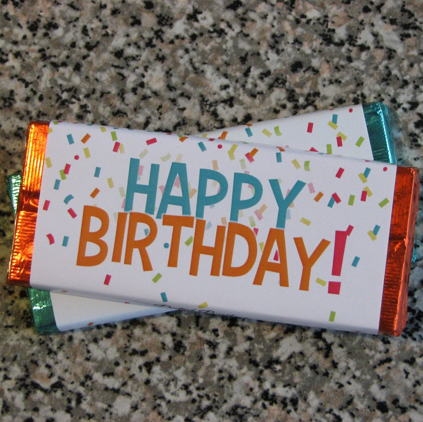 Happy Birthday Candy Images Best Of Special Occasion Chocolate Bars