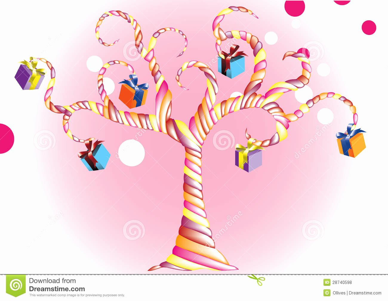 Happy Birthday Candy Images Elegant Vector Happy Birthday Candy Tree with A Colorful G Royalty