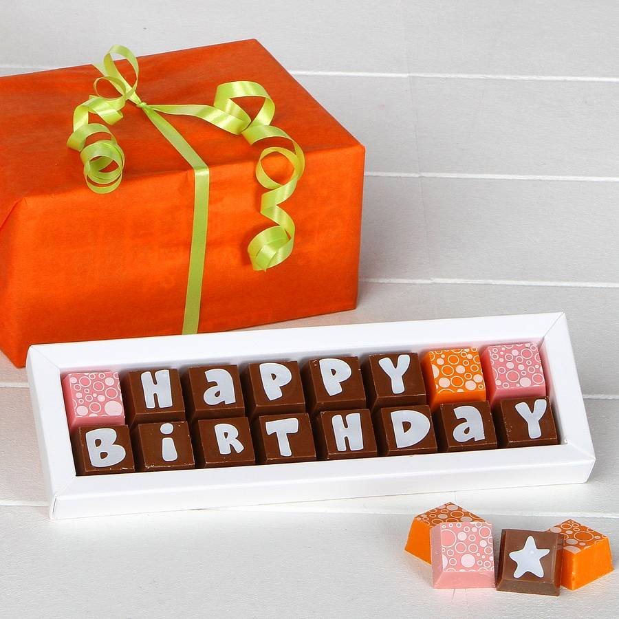 Happy Birthday Candy Images Inspirational Happy Birthday Chocolates by Chocolate by Cocoapod