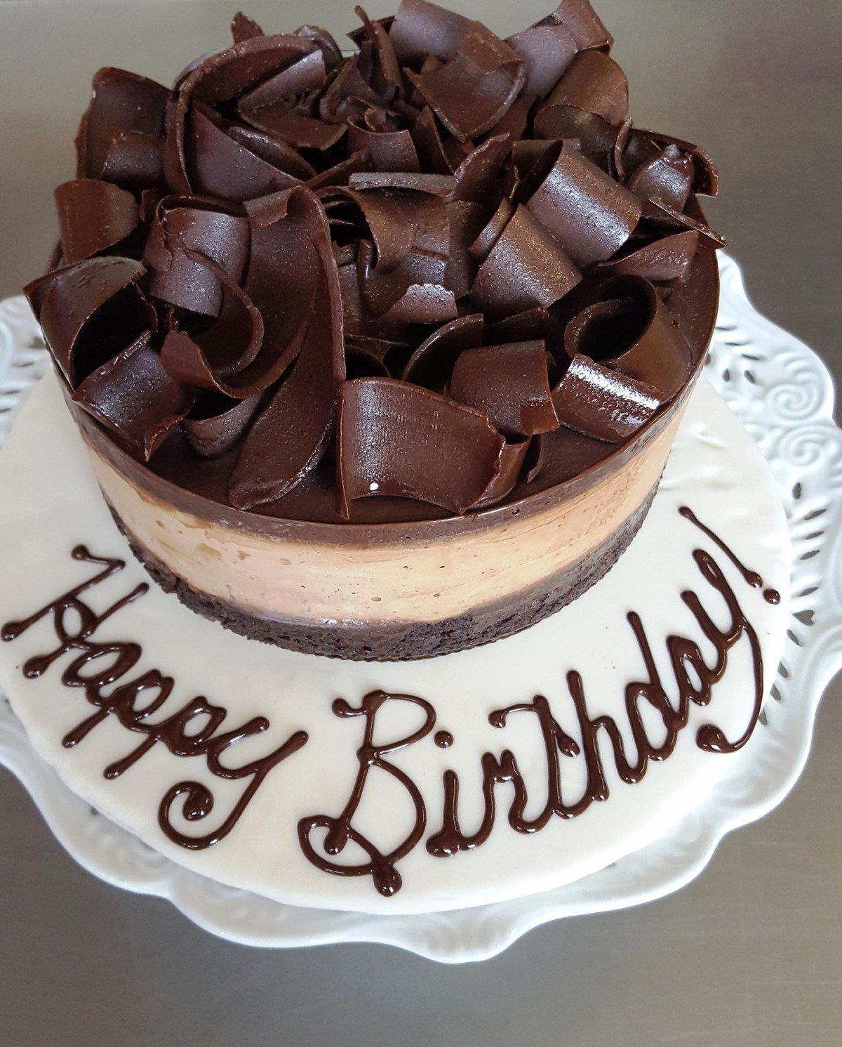 Happy Birthday Candy Images New Happy Birthday Chocolate Cake Gluten Free Specialty Cake