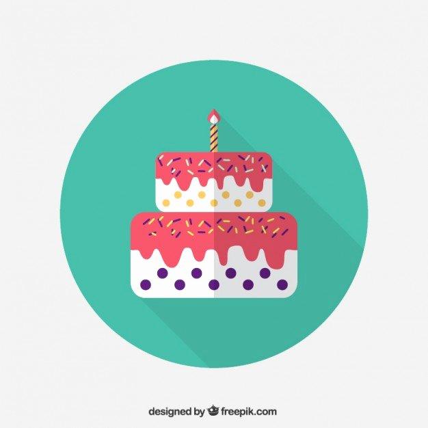 Happy Birthday Icons Free Best Of Birthday Cake Icon Free Vector