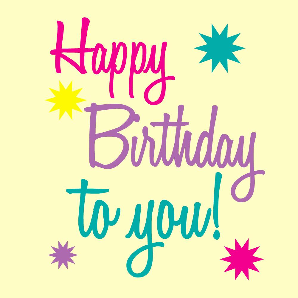 Happy Birthday Icons Free Inspirational Happy Birthday Printable Art