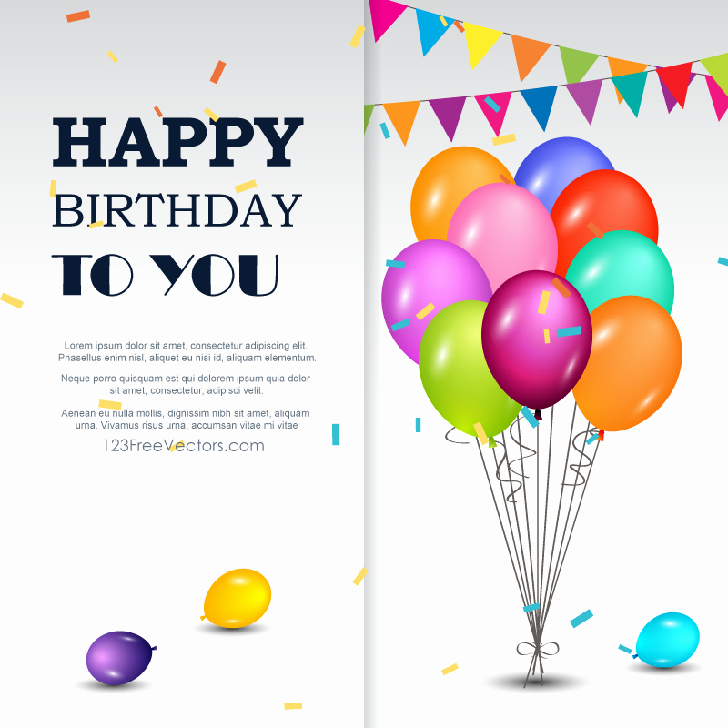Happy Birthday Template Free Fresh Happy Birthday Greetings Card