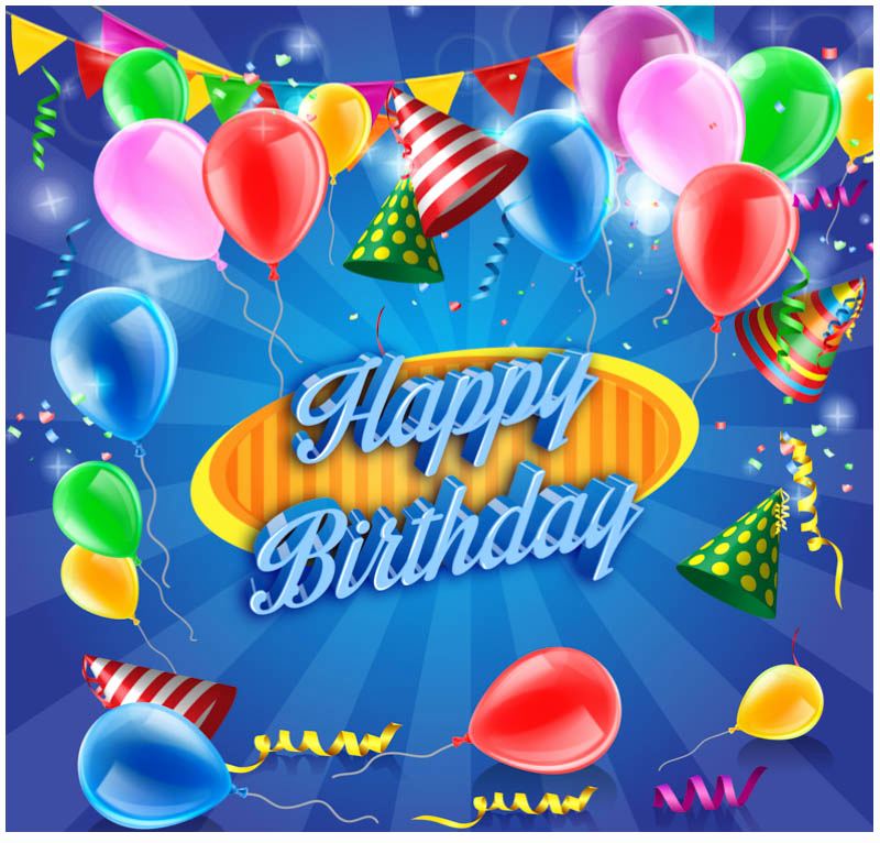 Happy Birthday Template Free Luxury 10 Free Vector Psd Birthday Celebration Greeting Cards
