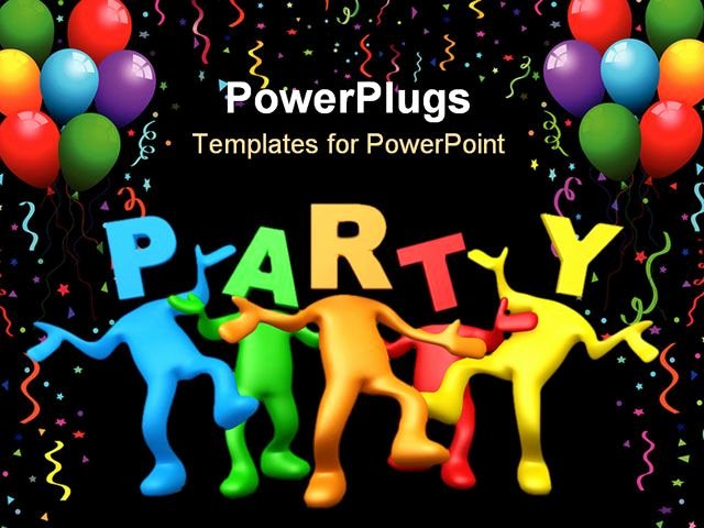 Happy Birthday Template Free New Party Powerpoint Template Party Powerpoint Template Party