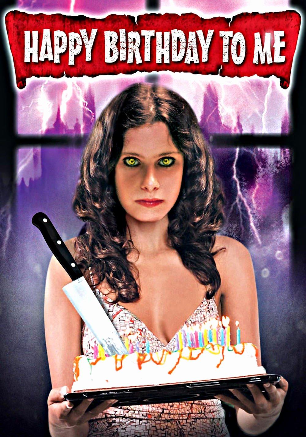 Happy Birthday to Me Poster Lovely Happy Birthday to Me Movie Fanart