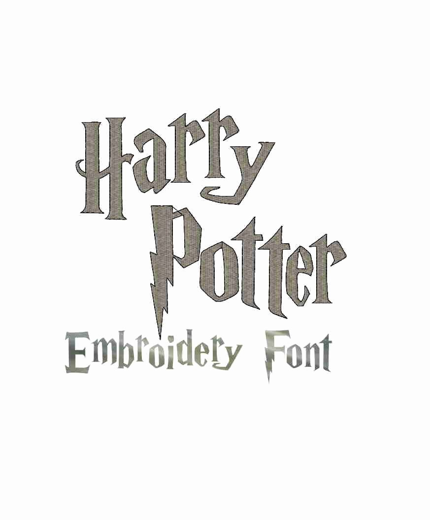 Harry Potter Font Style Awesome Instant Download Harry Potter Inspired Digital