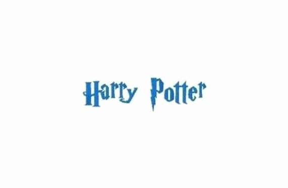 Harry Potter Font Style Beautiful Instant Download Harry Potter Style Machine Embroidery Font