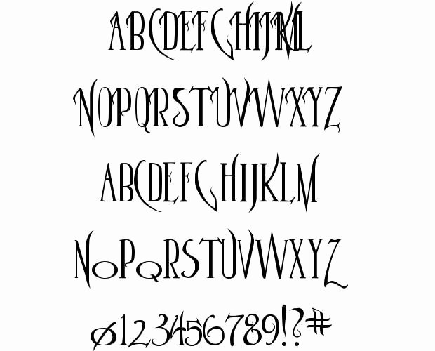 Harry Potter Font Style Best Of Parseltongue Harry Potter Fonts