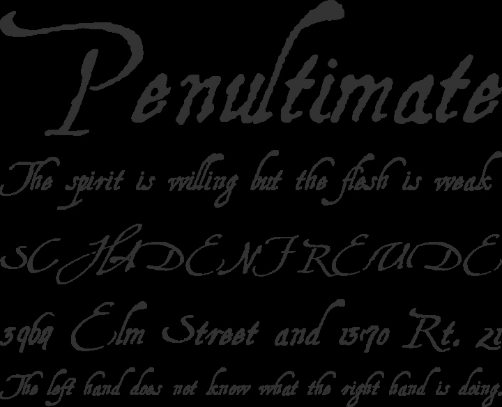 Harry Potter Font Style Elegant Free Font Aquiline Two by Manfred Klein Fonteria