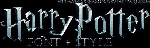 Harry Potter Font Style Inspirational Harry Potter Font Style by Missreason On Deviantart