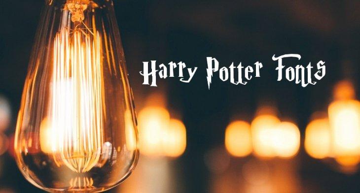 Harry Potter Font Style Lovely Best Harry Potter Fonts