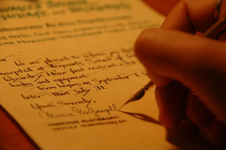 Harry Potter Font Style Lovely Sale Handwritten & Personalized Harry Potter Hogwarts