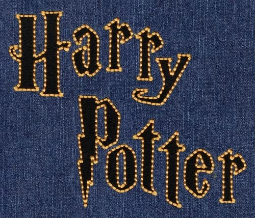 Harry Potter Font Style Luxury 359 Harry Potter Style Fill & Floss Font