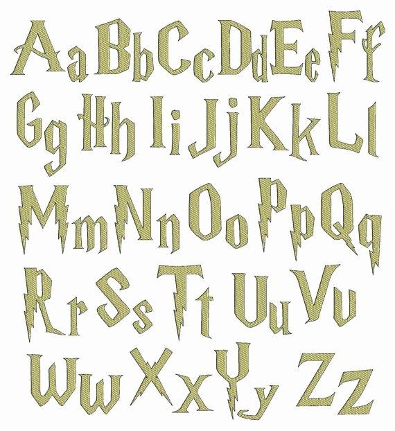 Harry Potter Font Style New Best 25 Harry Potter Font Ideas On Pinterest