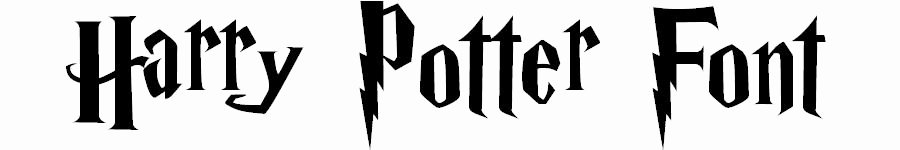 Harry Potter Font Style Unique Harry Potter Font Sample