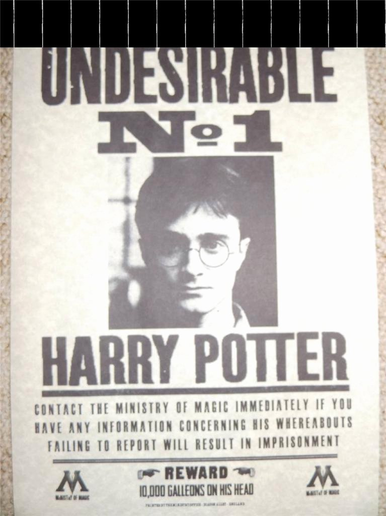 Harry Potter Wanted Poster Elegant Harry Potter Hogwarts Wanted Poster Prop Replica Sirius