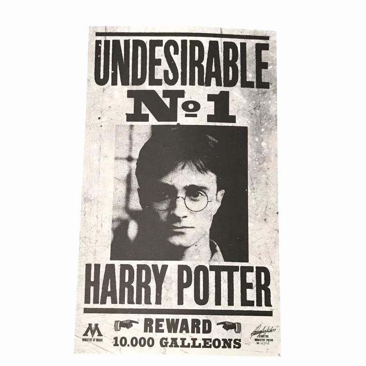 Harry Potter Wanted Poster Fresh Harry Potter Wanted Poster Harry Potter and the Deathly Ha