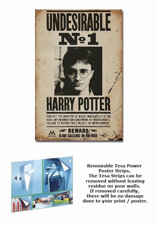 Harry Potter Wanted Poster Lovely Harry Potter Framed Movie Poster Print Wanted