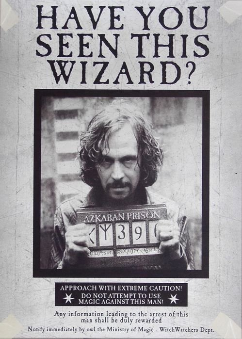 Harry Potter Wanted Poster Luxury Sirius Black Wanted Poster I Stared at This for About 3