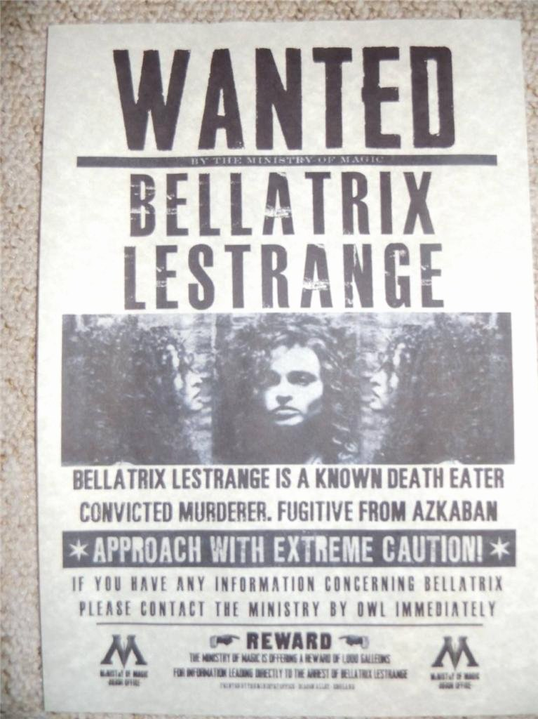 Harry Potter Wanted Poster New Harry Potter Hogwarts Wanted Poster Prop Replica Sirius