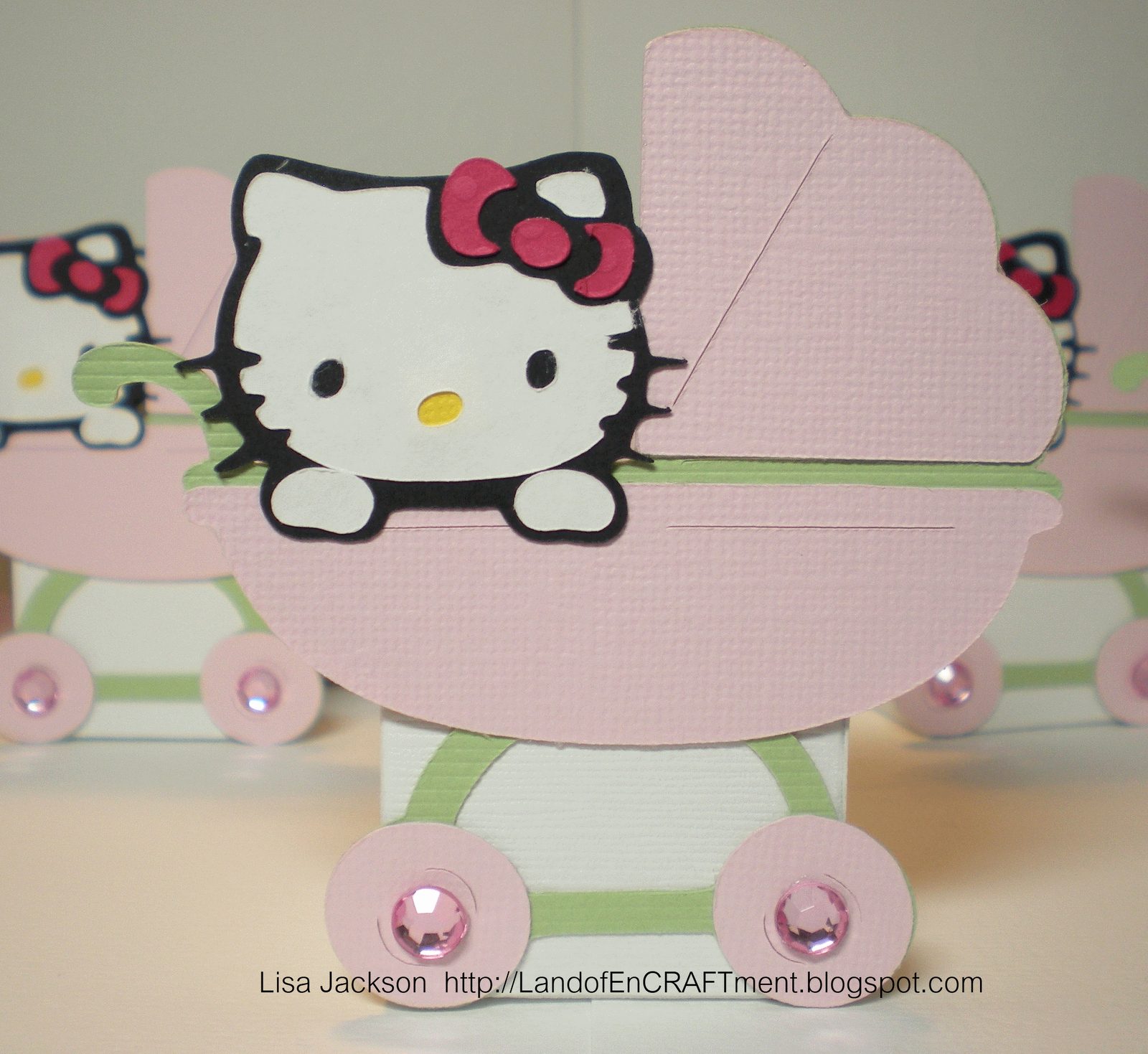 Hello Kitty Baby Shower Invites Inspirational Land Of Encraftment Hello Kitty Baby Shower Favors