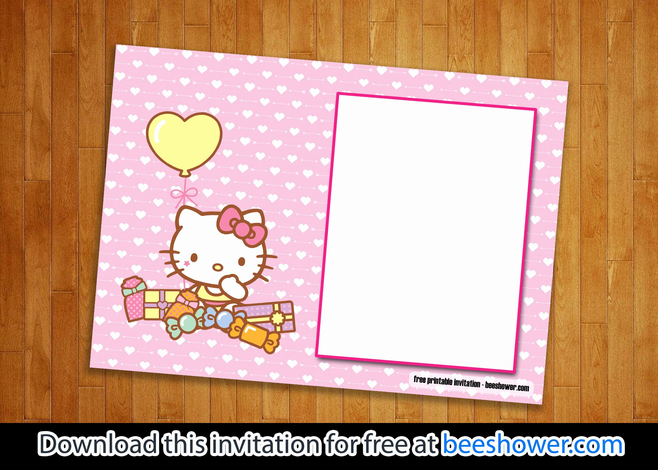 Hello Kitty Baby Shower Invites New Free Perfect Hello Kitty Baby Shower Invitations