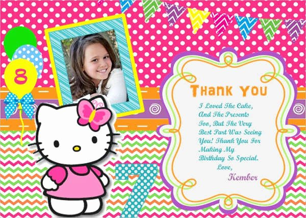 Hello Kitty Birthday Invites Fresh 11 Hello Kitty Invitations Word Psd Indesign