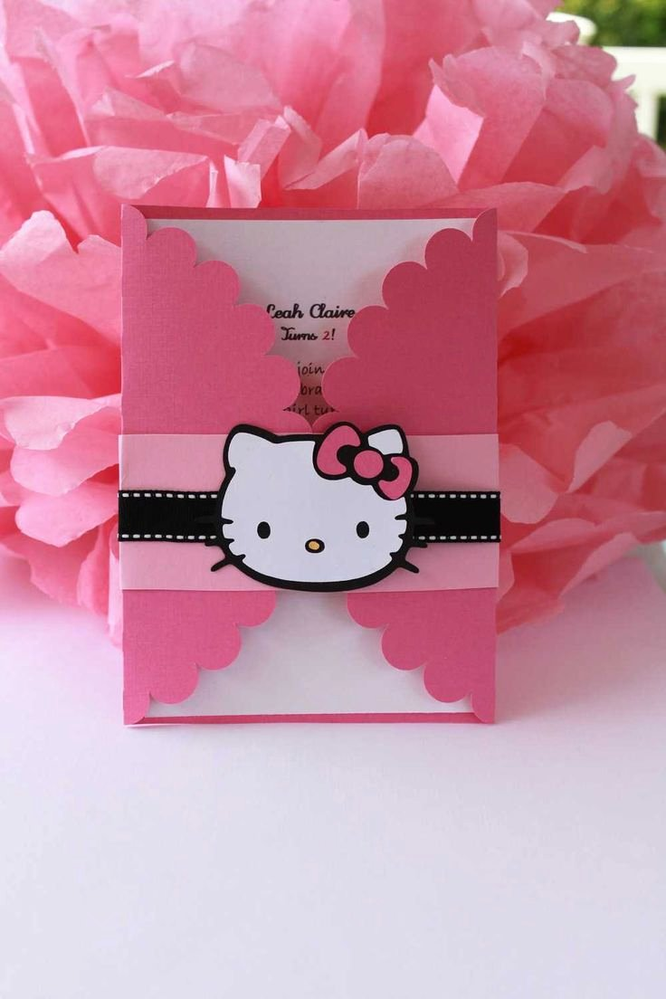 Hello Kitty Birthday Invites Luxury Hello Kitty Wedding Invitations
