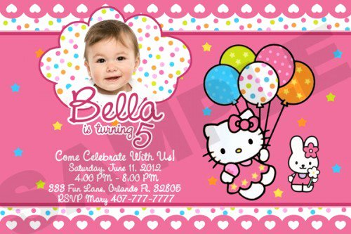 Hello Kitty Invitation Template Best Of Hello Kitty Printable Invitations Birthday