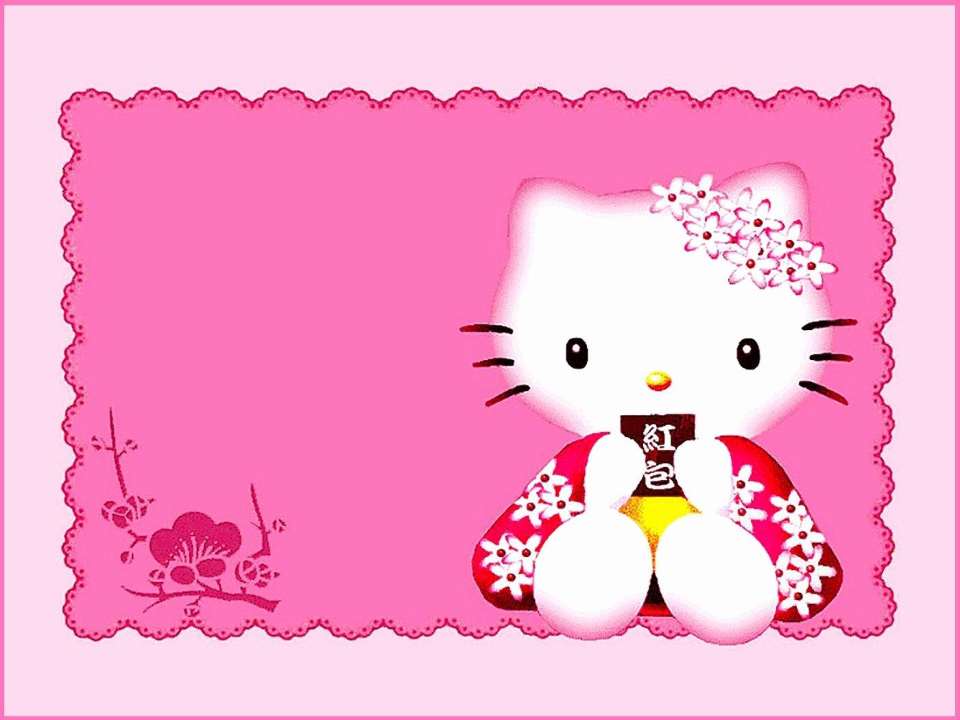 Hello Kitty Invitation Template Fresh Hello Kitty Free Printable Invitation Templates