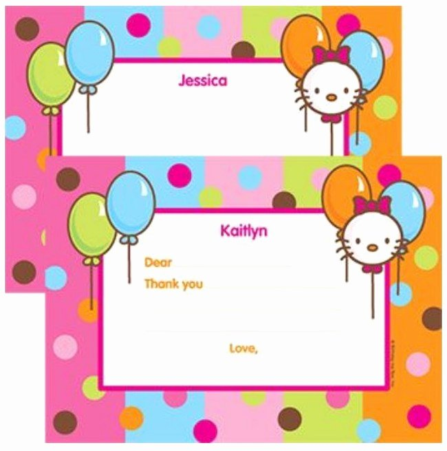 Hello Kitty Invite Template Fresh Hello Kitty Invitations the Best Way to Begin Your Kid's