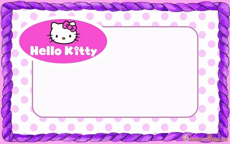 Hello Kitty Invite Templates Awesome Hello Kitty Invitations – Free Printable Templates