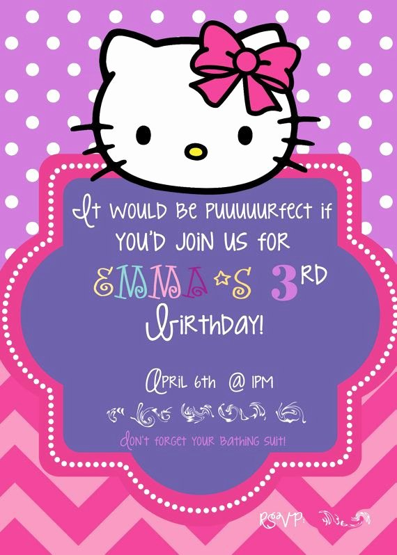Hello Kitty Invite Templates Fresh 581 Best Images About Hello Kitty On Pinterest