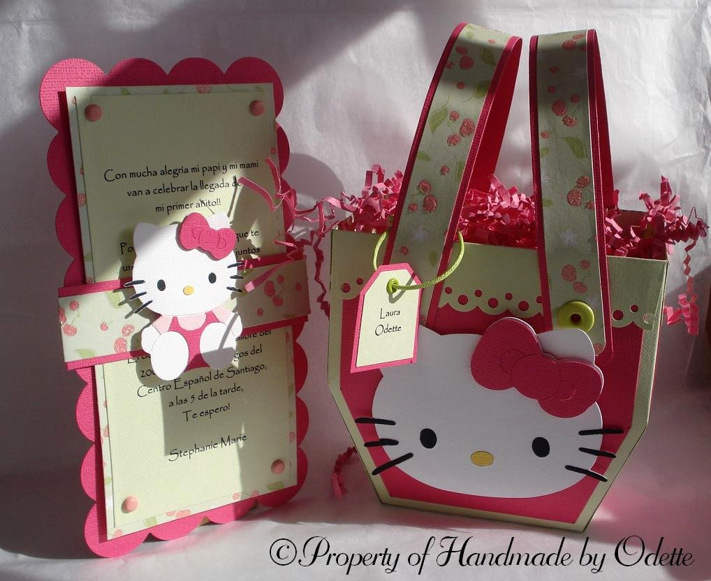 Hello Kitty Party Invite Luxury Hello Kitty Invitation