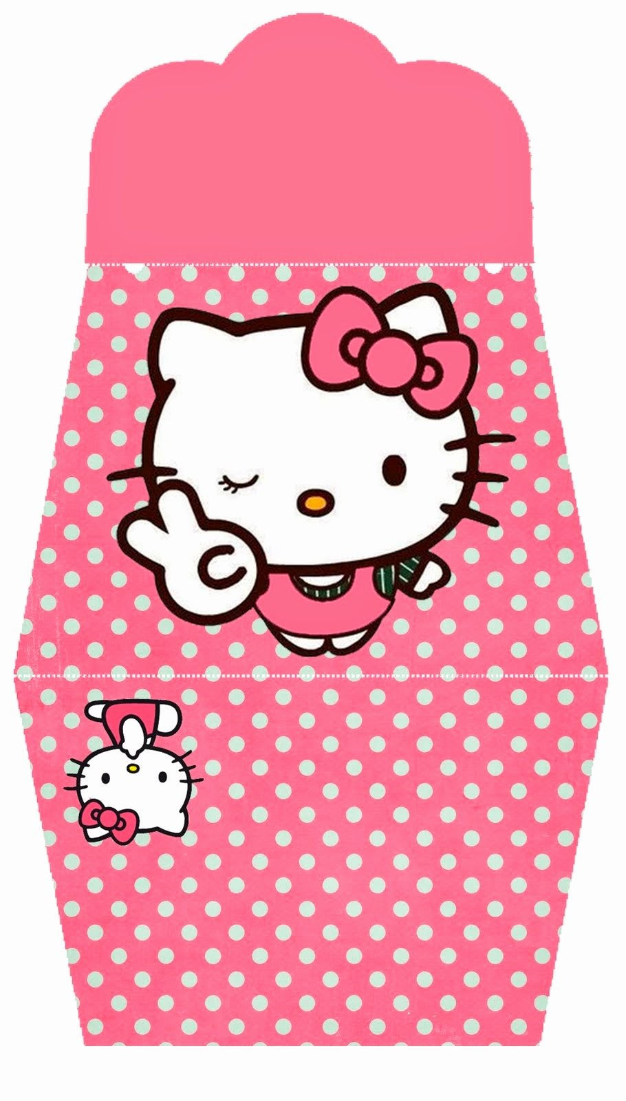Hello Kitty Printable Invitations Best Of Hello Kitty In Pink Free Printable Purse Invitations