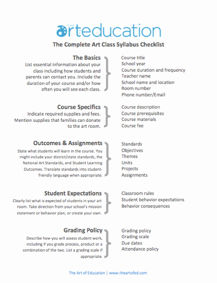 High School Course Syllabus Template Awesome Create A Syllabus that Your Students Will Actually Want to