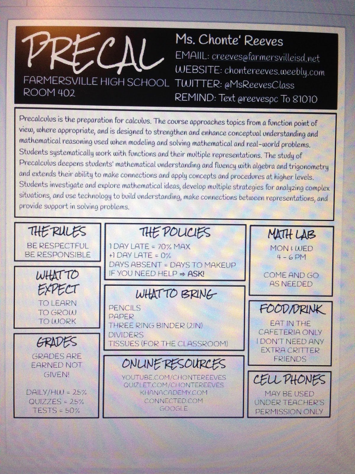 High School Course Syllabus Template Inspirational We Teach High School New Syllabus Layout