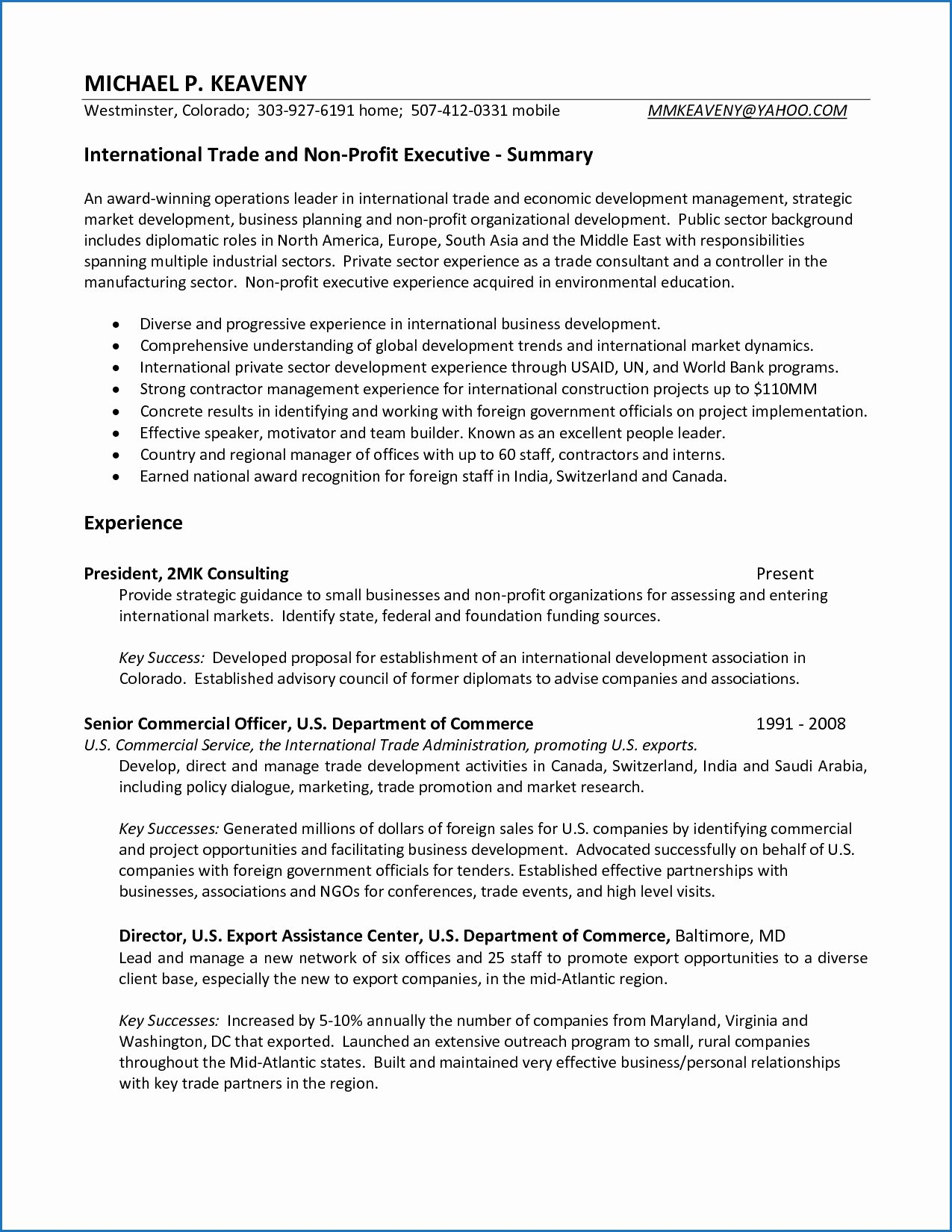 High School Principal Resume Beautiful 11 Resume Examples About Me Section