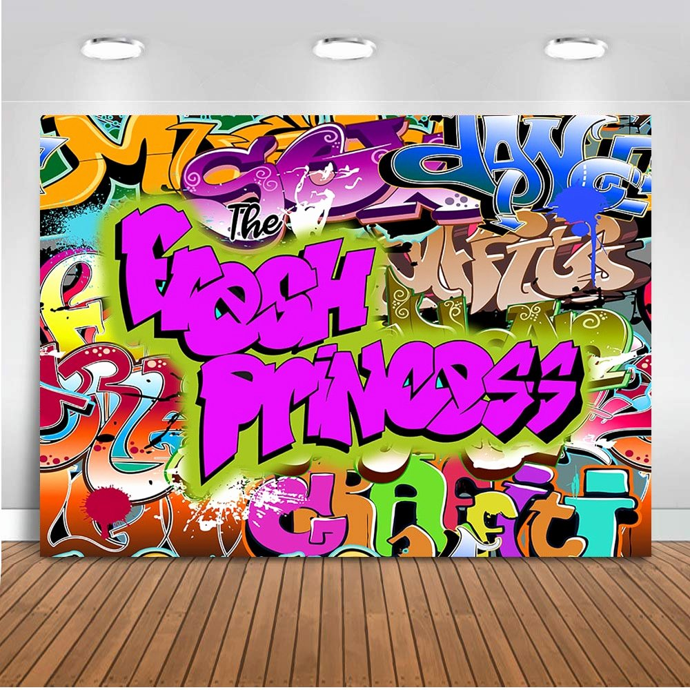 Hip Hop Graffiti Backdrop Awesome Fresh Princess Backdrop for Graphy Hip Hop Background