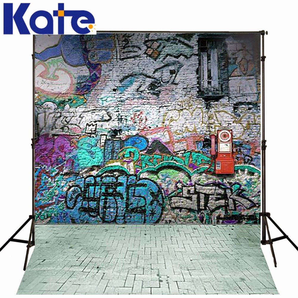 Hip Hop Graffiti Backdrop Best Of Kate Background Graffiti Brick Wall Backdrop Hip Hop