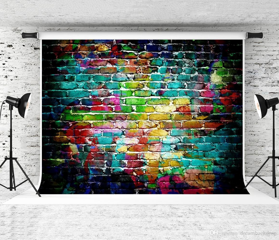 Hip Hop Graffiti Backdrop Inspirational 2019 Dream 7x5ft Colorful Graffiti Wall Graphy
