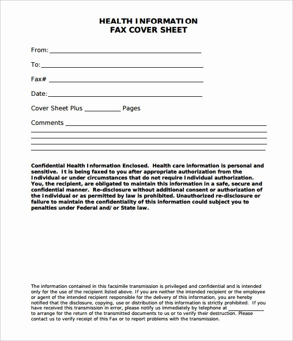 Hipaa Fax Cover Sheet Requirement Best Of Hipaa Fax Cover Sheet Word Sample 1424