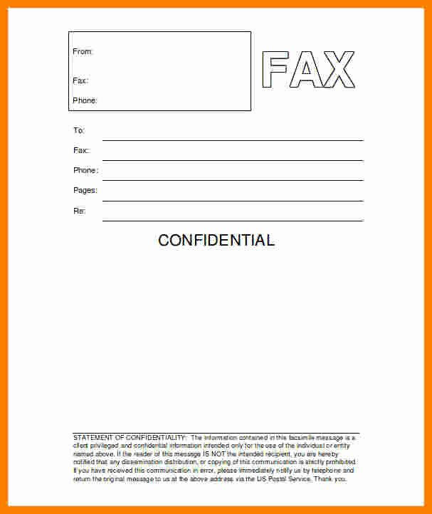 Hipaa Fax Cover Sheet Requirement Elegant 9 Hipaa Fax Confidentiality Statement