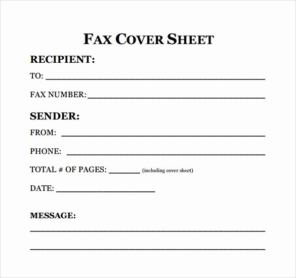 Hipaa Fax Cover Sheet Requirement Unique Sample Fax Cover Sheet for Resume 7 Documents In Pdf Word
